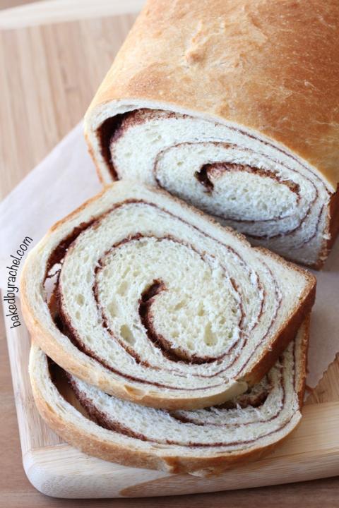 Cinnamon Swirl Bread Baked By Rachel