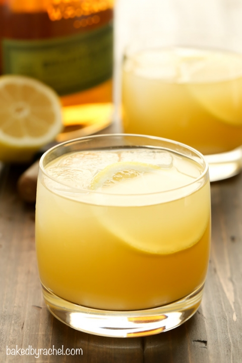Pineapple Whiskey Sour – Baked by Rachel