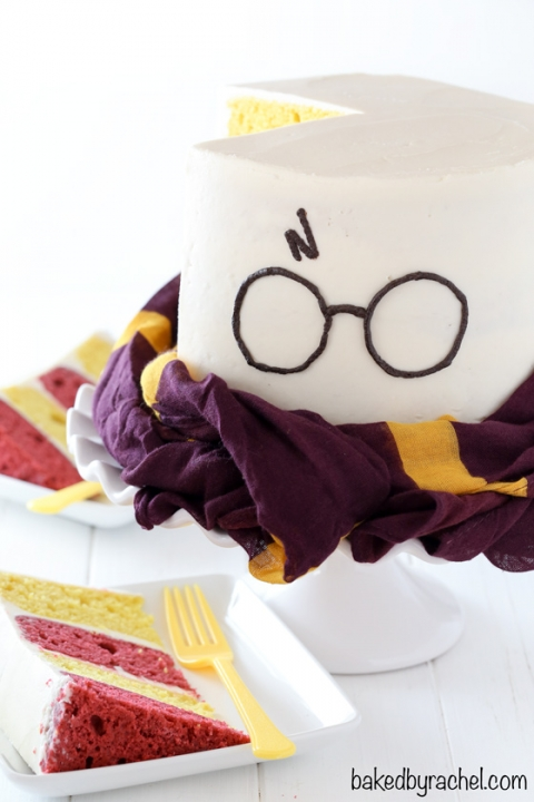 Swell Harry Potter Layer Cake Baked By Rachel Personalised Birthday Cards Paralily Jamesorg