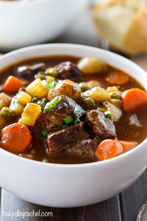 Slow Cooker Guinness Beef Stew Baked By Rachel