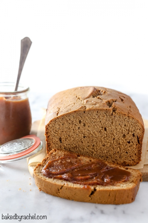 Cinnamon Apple Butter Bread