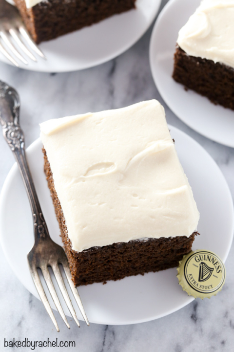 Guinness Chocolate Cake With Brown Sugar Cream Cheese Frosting Baked By Rachel