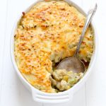 Easy and flavorful leftover Thanksgiving turkey shepherd's pie recipe from @bakedbyrachel